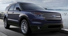 2012 Ford Explorer SUV Officially Teased