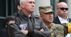 US Vice-President Mike Pence has declared that his countrys era of strategic patience with North Korea is over.  Mr Pence made the remarks at the demilitarized zone (DMZ) the area dividing the two Koreas during a visit to South Korea to reaffirm ties.  The era of strategic patience is over Pence said. President Trump has made it clear that the patience of the United States and our allies in this region has run out and we want to see change. We want to see North Korea abandon its reckless…