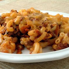 Beef, Cheese, and Noodle Bake | MyRecipes.com Serves 8