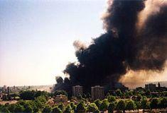 Foto van de vuurwerkramp