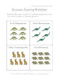 Dinosaurs Worksheets for Kids Tutors, Worksheets and more at: www.TutorFrog.com/worksheets-wyzant