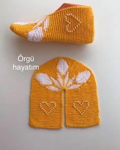 Free Heart Crochet Pattern, Crochet Slipper Pattern, Crochet Cardigan Pattern, Crochet Slippers, Knitting Designs, Knitting Patterns, Crochet Patterns, Lace Knitting, Knitting Socks