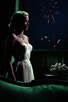 Grace Kelly in Hitchcock's To Catch A Thief