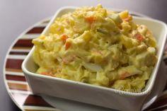 Zemiakový šalát s majonézou • recept • bonvivani.sk