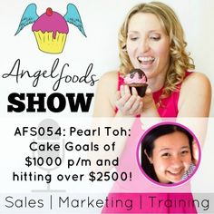 AFS054: Cake Goals of $1000 p/m and hitting over $2500 in 3 months!
