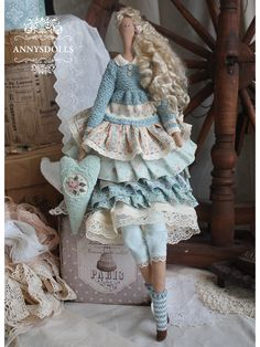 Annysdolls.com: Портфолио. Куклы Тильда, продажа кукол Тильда в Бресте. Тильды в Бресте. Antique Dolls, Vintage Dolls, Tilda Toy, Everything Pink, Waldorf Dolls, Paper Toys, Fabric Dolls, Crochet Dolls, Handmade Toys