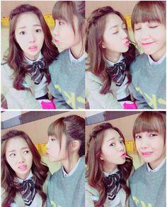 Eunji and chae soobin sassy go go