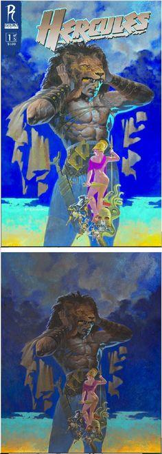 JIM STERANKO - art for Hercules The Thracian War #1 - 2008 Radical Comics