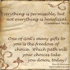 1 Corinthians 10:23a