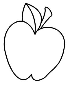 Apples Fresh Fruit Of Gold Colored Coloring Pages