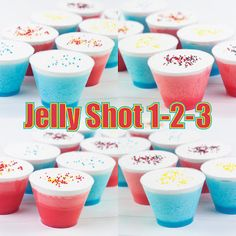 Jello 1-2-3? How about Jelly Shot 1-2-3?