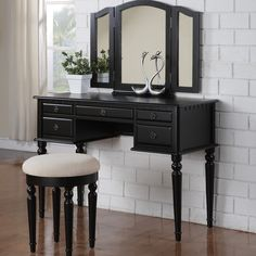 Features: -Simple yet sophisticated. -Drawers are removable and replaceable. -Removable knobs. -Material: Manufactured wood, rubber wood, birch veneer, bronze and mirrored glass. -Bench Weight Ca