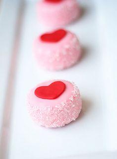 Cute pink cookies