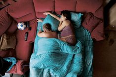 These Photos Of Sleeping Parents-To-Be Are Beautifully Intimate