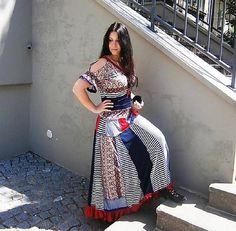 LEL-handmade / maxi šaty ,,makarská carmen,, New Look, Dresses For Work, Handmade, Fashion, Moda, Hand Made, Fashion Styles, Fashion Illustrations, Handarbeit