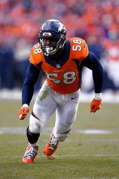 The Panthers and Broncos are packed with freakishly versatile athletes like Cam Newton and Von Miller rather than the specialized role players of old. Role Player, Denver Broncos, Super Bowl, Football Helmets, Nfl, Fandom, Game, Sports, Hs Sports