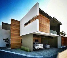 """"""". ▫Contemporary design house ✒ @gallardo.arquitectura . #architect #architecture #contemporary #arquitetura #facade #sketchup #sketchup3d #sketchup2016…"""""""