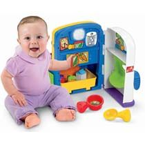 Amazon.com : Fisher-Price Laugh and Learn Learning Kitchen : Early Development Activity Centers : Toys & Games