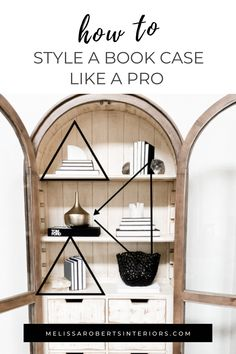 How should you style a bookcase? I'm showing you simple tips for styling and decorating shelves. Learn how to upcycle your accessories, distribute your objects, and add some modern flare to your home!