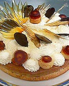 Gateau Saint-Honore is a classic French cake named for the patron saint of pastry bakers; this dessert comprises several challenging recipes.