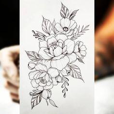Lotusblume Tattoo, Arm Band Tattoo, Body Art Tattoos, Small Tattoos, Sleeve Tattoos, Tatoos, Flower Tattoo Drawings, Tattoo Sketches, Flower Tattoos