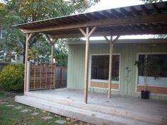 Corrugated metal deck cover | Deck Masters, llc