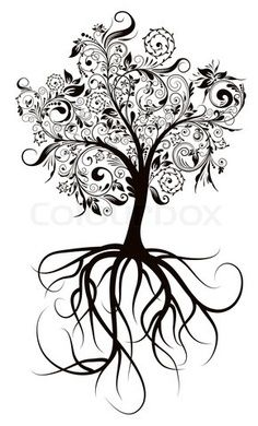 Celtic tree of life - hmmmmmmm...