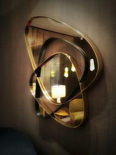 Clouds Achille Salvagni Atelier Metal Mirror, Mirror Art, Mirror Gallery Wall, Luxury Mirror, Custom Mirrors, Mirror Panels, Beautiful Mirrors, Architecture, Metalworking