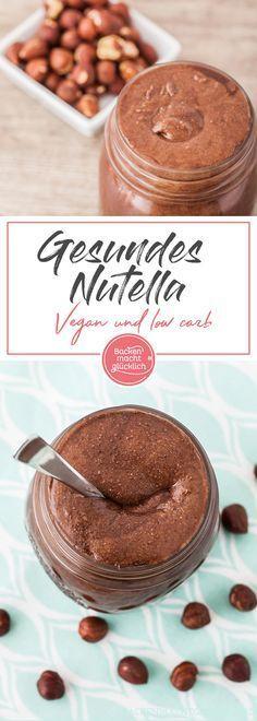 Lust auf gesundes Nutella? Mit diesem Rezept für Schokoaufstrich könnte ihr veganes, zuckerfreies, low carb Nutella selbermachen.