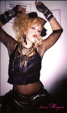 ...love Maegan : 80's Madonna Costume ~ Halloween 2003 Fashion + DIY + Home + Lifestyle