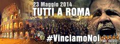 Domani tutti in piazza Don bosco per vedere la #diretta da piazza san giovanni #roma.