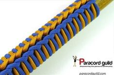 Double Spiral Paracord Crafty Lotus Paracord Wrap