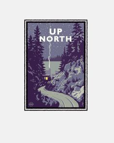 Hey, I found this really awesome Etsy listing at https://www.etsy.com/listing/165486416/landmark-series-up-north-minnesota-by