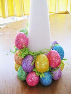Easter Egg Tree Tutorial by HandCreates