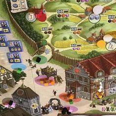 Alguém afim de jogar Village?! #DeliDaPersy #boardgame #village #fireonboard