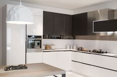 Snaidero ORANGE is one an exceptional contemporary kitchen idea that ...