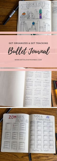 What you need to start your Bullet Journal. Get organized and get tracking