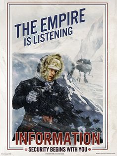 This poster by Cat Staggs just ROCKS!!! I'm going to get this for my office!!! A great mix of Star Wars and WW I and II era propaganda posters. Love it!!