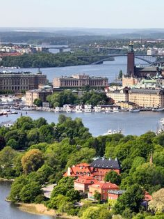 Stockholm, Sweden. Just got home from here. What a beautiful city.