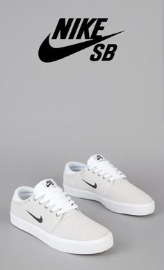 NIKE SB TEAM EDITION WHITE / BLACK - GUM LIGHT BROWN