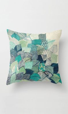 Soulful Nature Throw Pillow