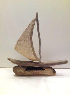 driftwood boat