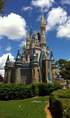 Cinderella's castle at the Magic Kingdom, in Orlando, Florida.