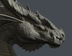 ArtStation - Smaug, Zac Berry: