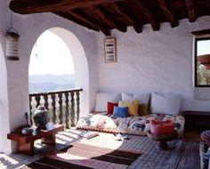 Adobe sleeping porch