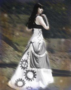 Steam Punk Wedding Dress
