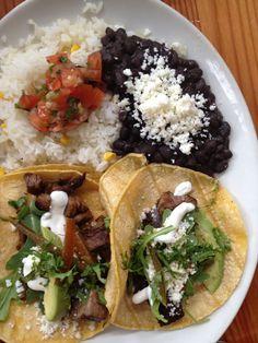 La Condesa's Braised Short Rib Tacos.  Austin, Texas