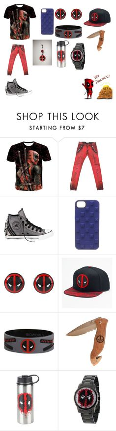 """""""YAY PANCAKES!!!"""" by scorpio-queen ❤ liked on Polyvore featuring Balmain, Converse, NIKE, Marvel, Hot Topic, men's fashion and menswear"""
