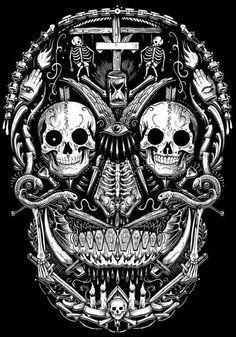 Sugar Skull Art, Darth Vader, Faith, Skulls, King, Fictional Characters, Loyalty, Fantasy Characters, Skeletons