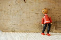 Vintage Eastern Europe Wooden Articulated Toy by butanika on Etsy